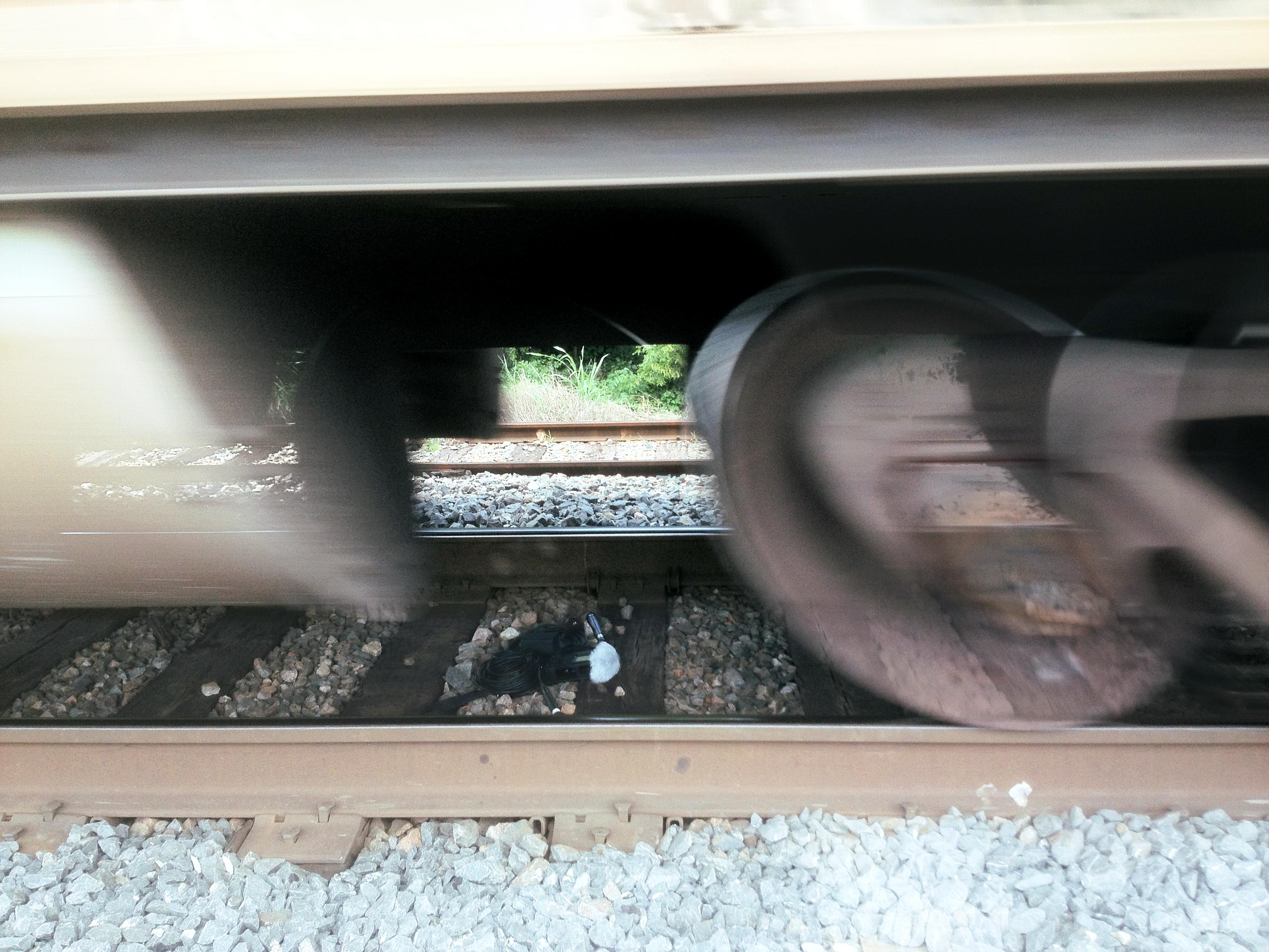 R26 Under Train