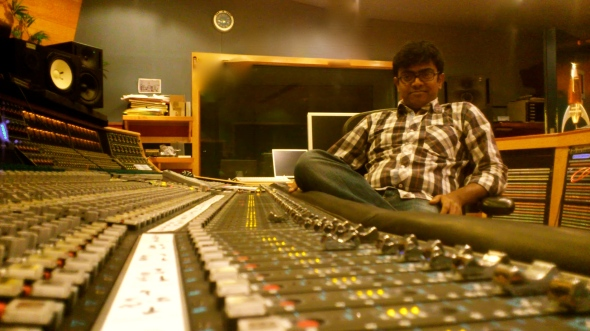 This was Taken at Galaxy Studio when I went there for a film mix